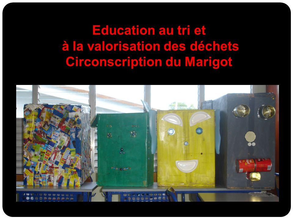 à la valorisation des déchets Circonscription du Marigot