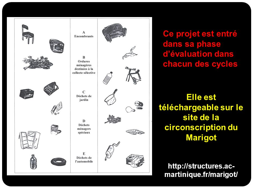 Elle est téléchargeable sur le site de la circonscription du Marigot