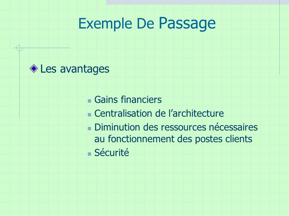 Exemple De Passage Les avantages Gains financiers
