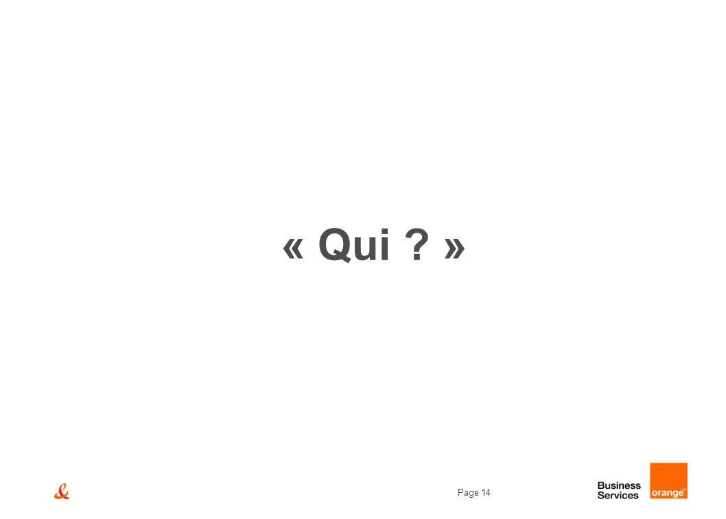 « Qui »
