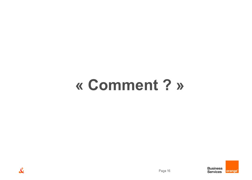 « Comment »