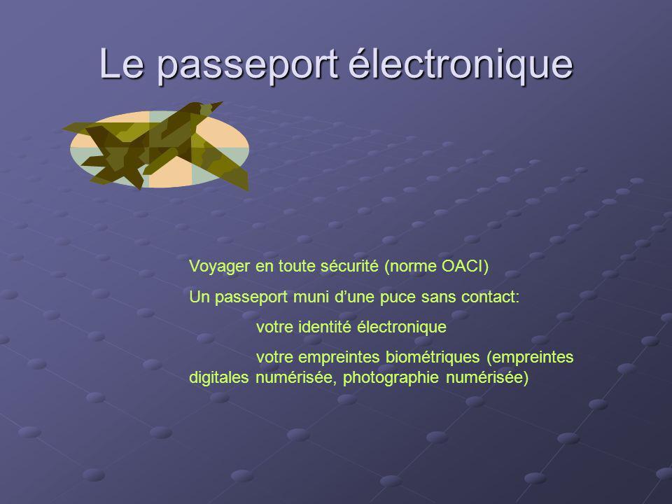 Le passeport électronique