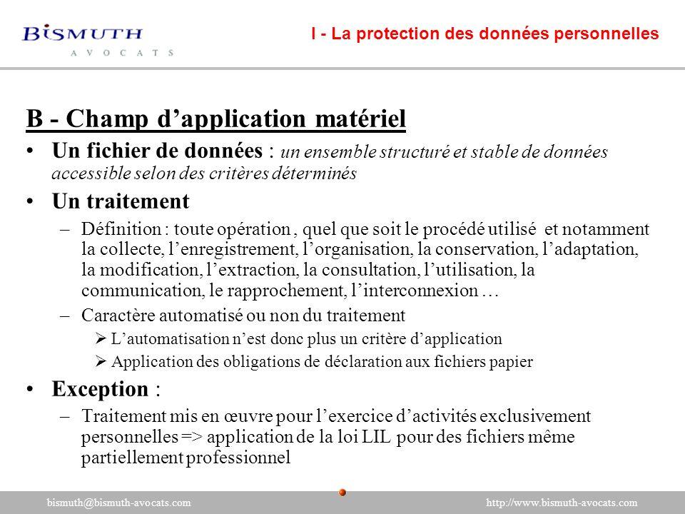 bismuth@bismuth-avocats.com http://www.bismuth-avocats.com