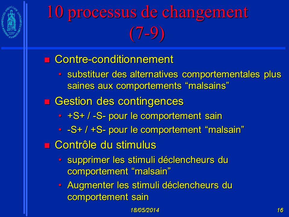 10 processus de changement (7-9)
