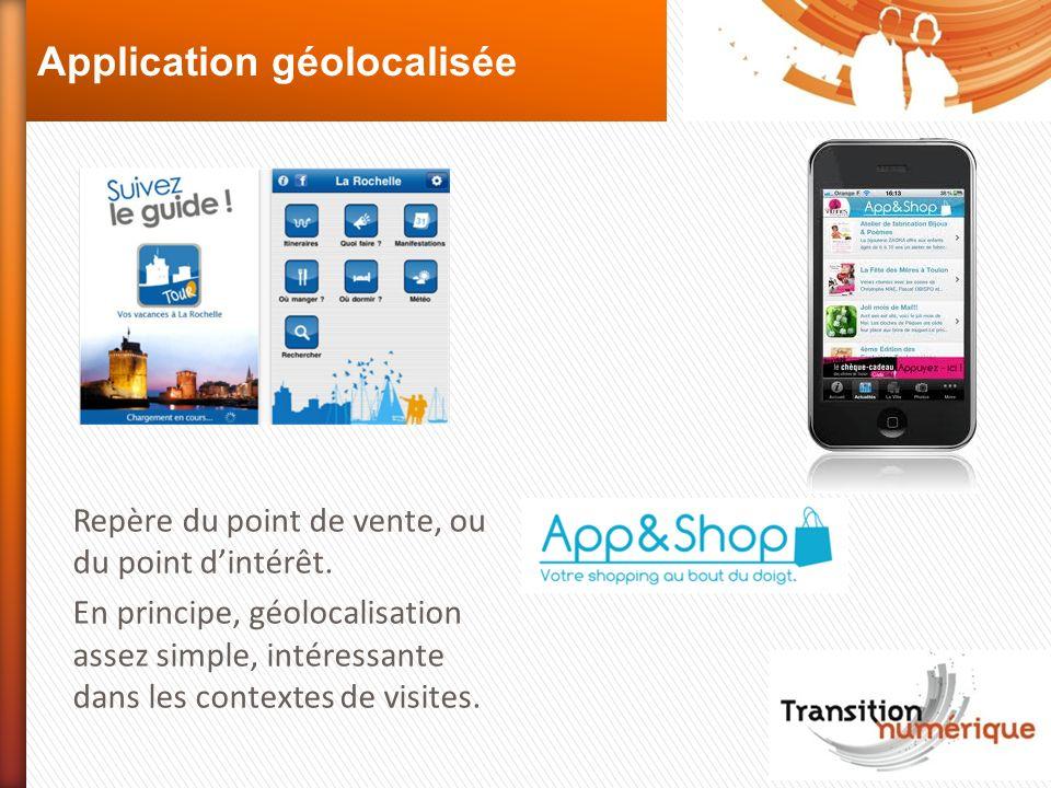 Application géolocalisée