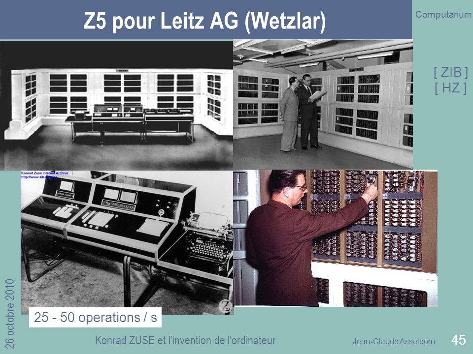 Z5 pour Leitz AG (Wetzlar)