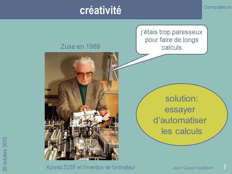 Computarium (Prof. J.Cl. Asselborn)