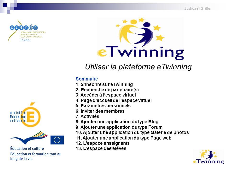 Utiliser la plateforme eTwinning