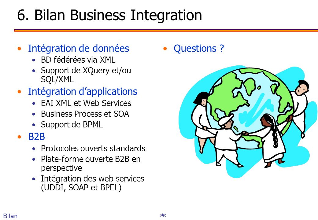 6. Bilan Business Integration