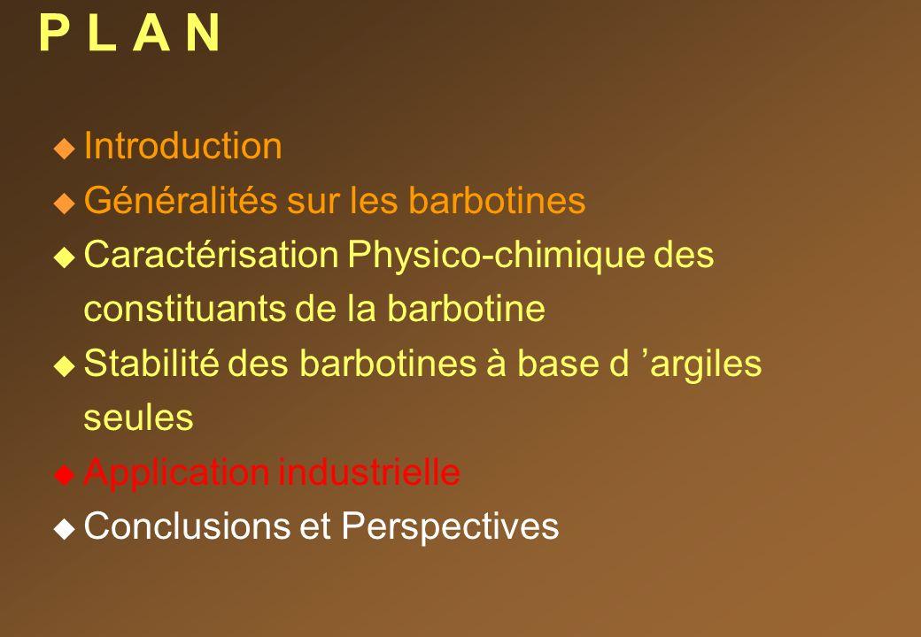P L A N Introduction Généralités sur les barbotines