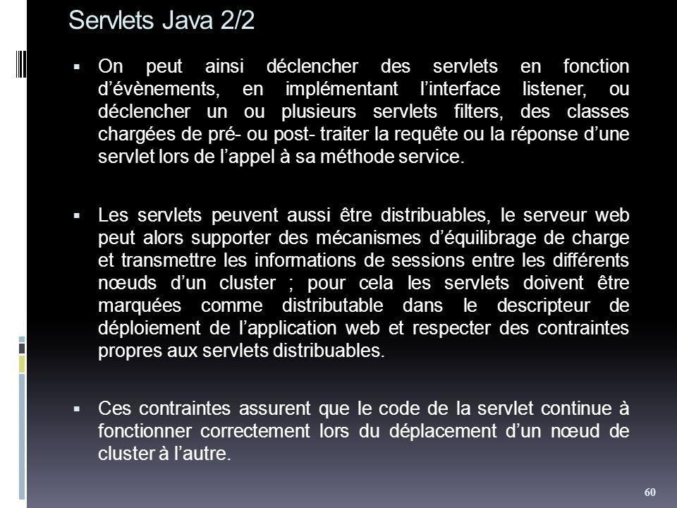 Servlets Java 2/2