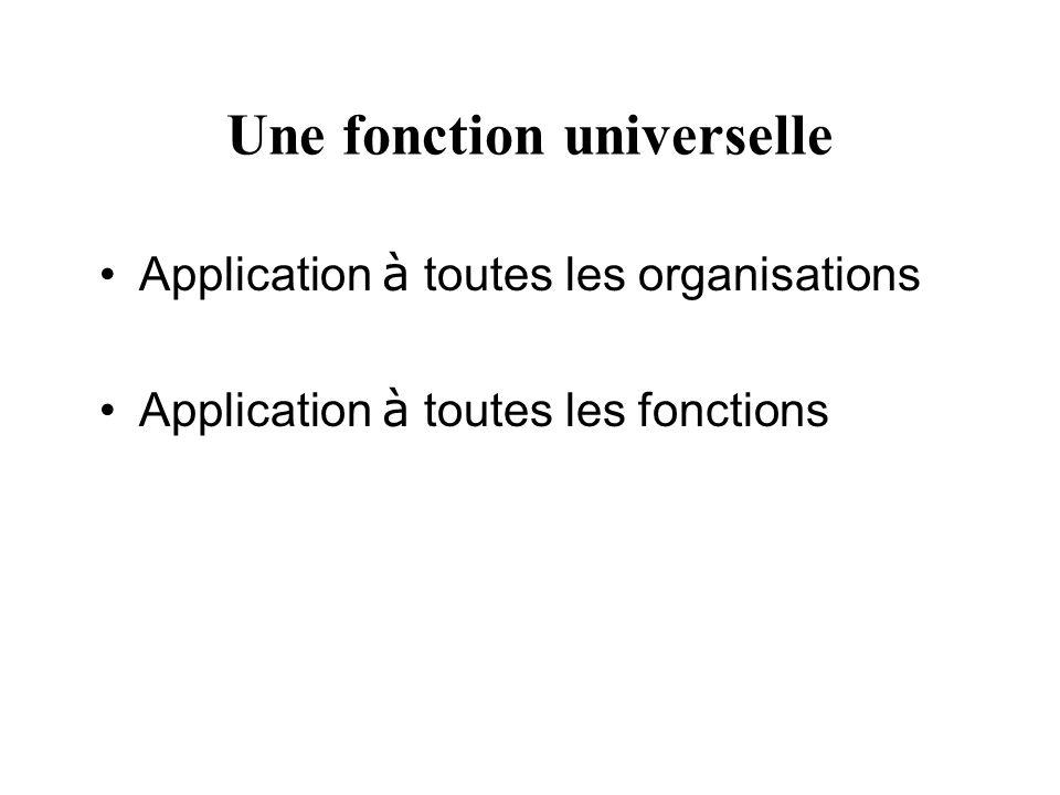 Une fonction universelle