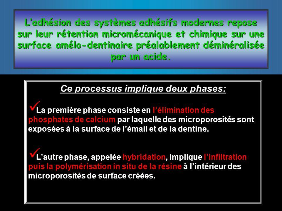 Ce processus implique deux phases: