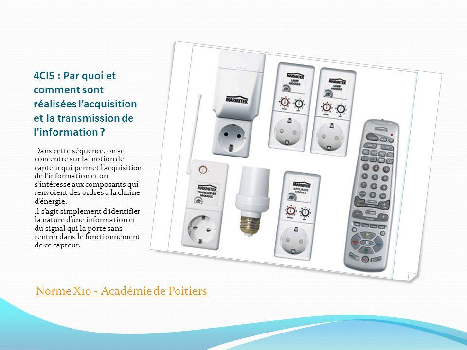 Norme X10 - Académie de Poitiers