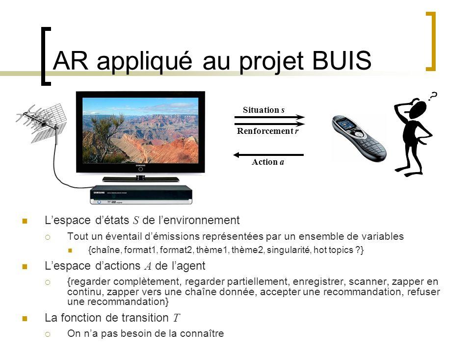 AR appliqué au projet BUIS