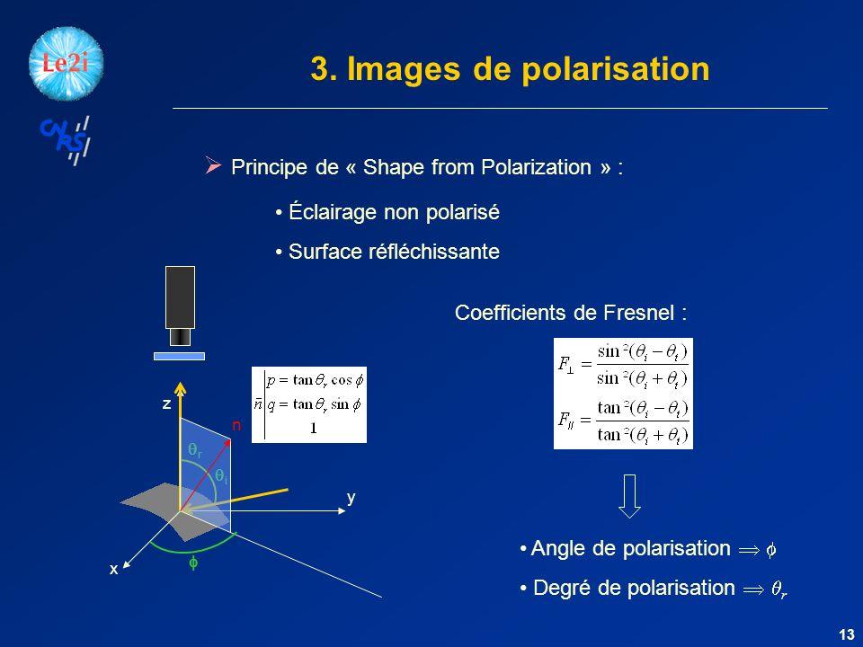 3. Images de polarisation