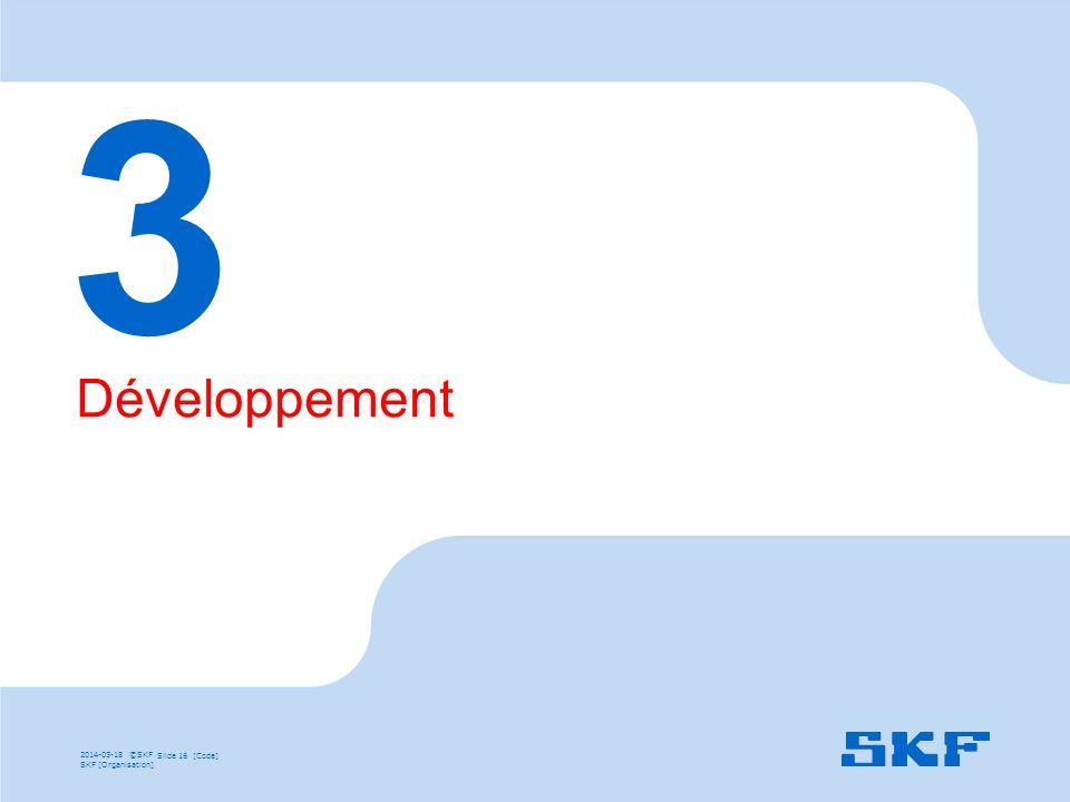 3 Développement SKF492E 31/03/2017 Diapositive Première Partie