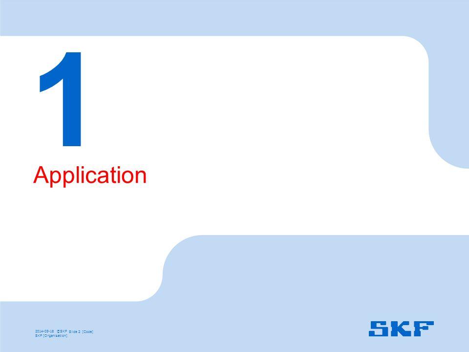 1 Application SKF492E 31/03/2017 Diapositive Première Partie