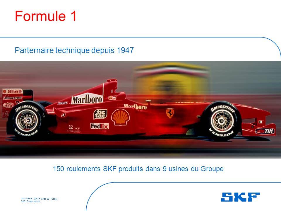 150 roulements SKF produits dans 9 usines du Groupe