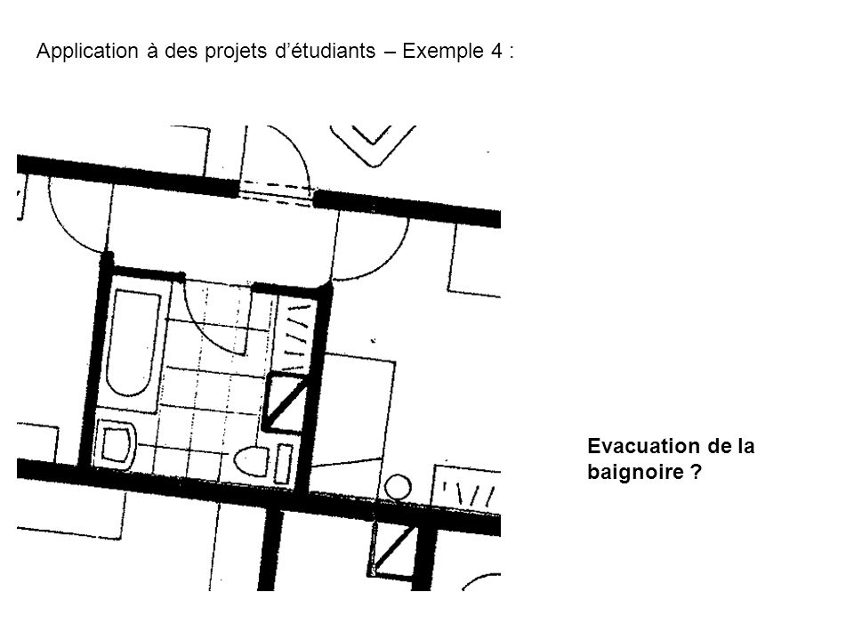 Application à des projets d'étudiants – Exemple 4 :