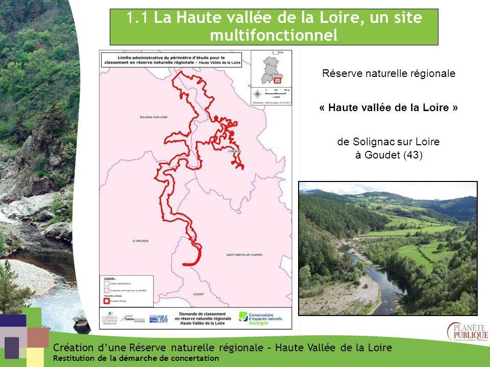 « Haute vallée de la Loire »