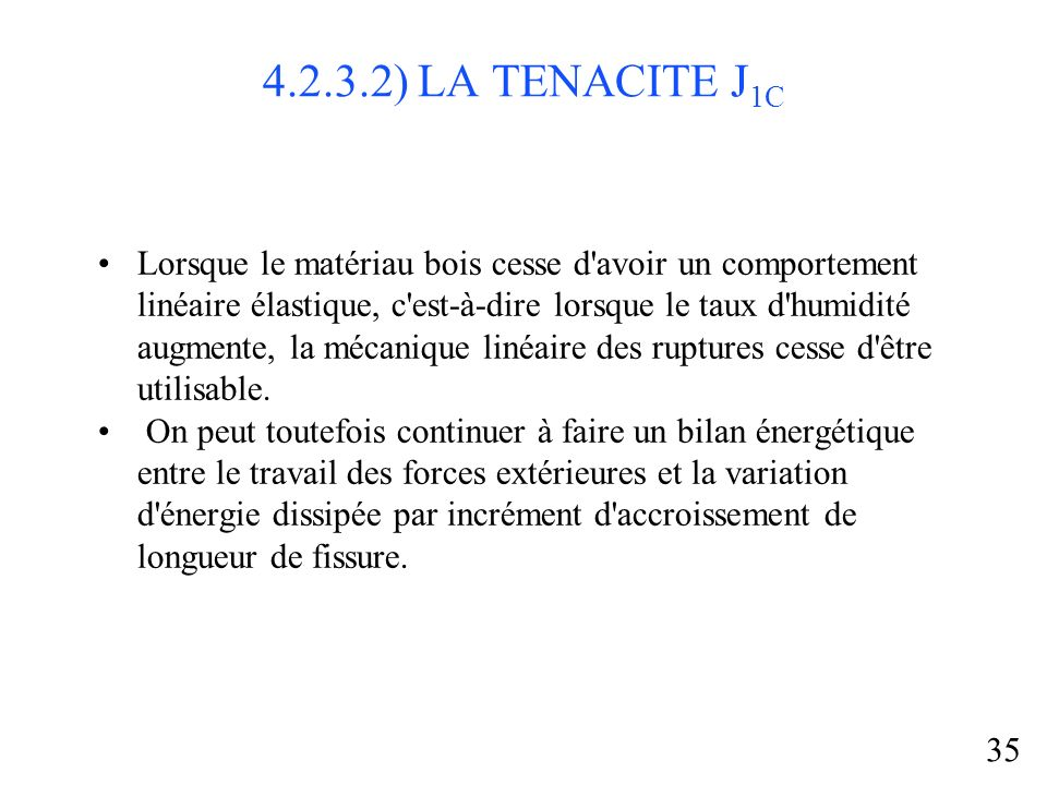 4.2.3.2) LA TENACITE J1C