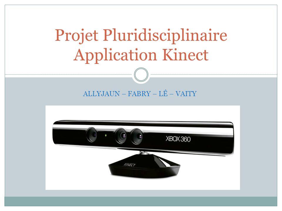 Projet Pluridisciplinaire Application Kinect
