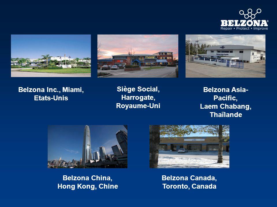Belzona Inc., Miami, Etats-Unis Siège Social, Harrogate, Royaume-Uni