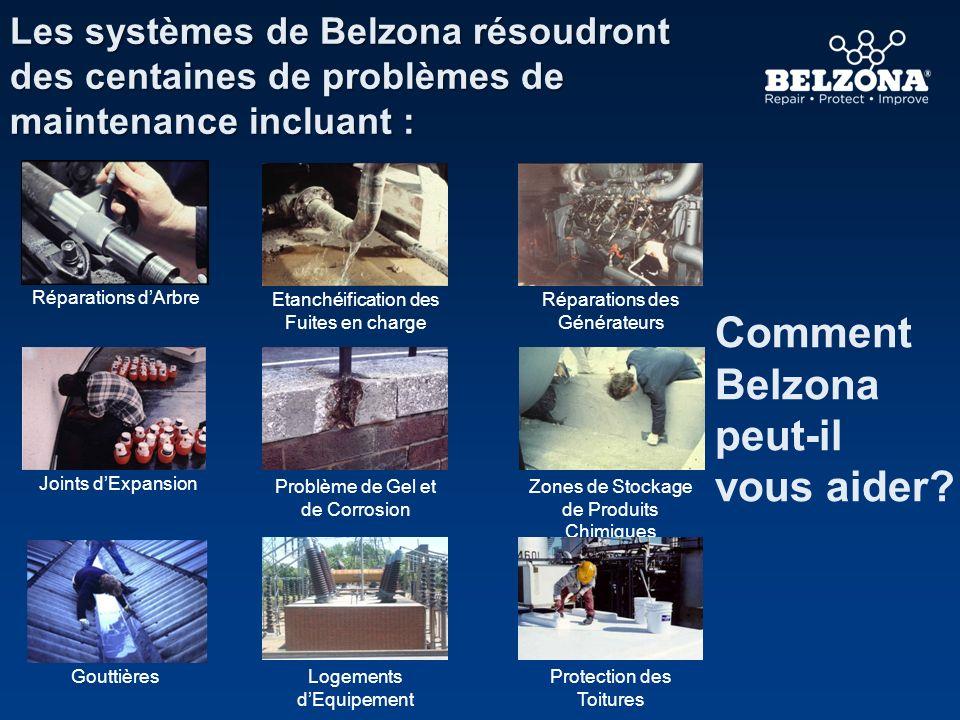 Comment Belzona peut-il vous aider