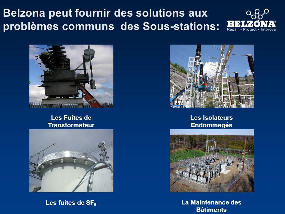 Belzona peut fournir des solutions aux problèmes communs des Sous-stations: