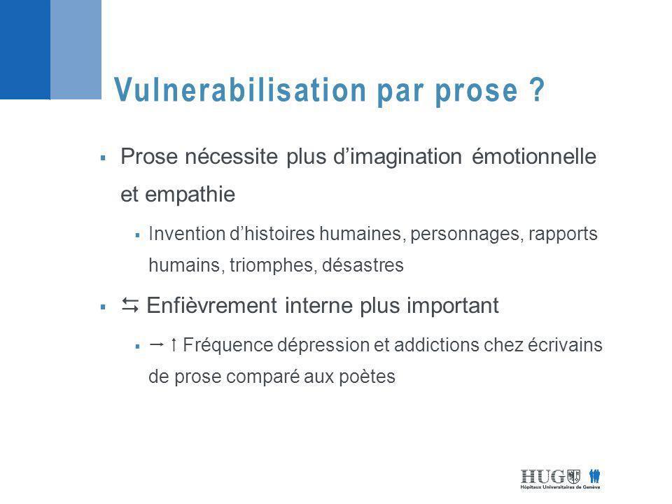 Vulnerabilisation par prose