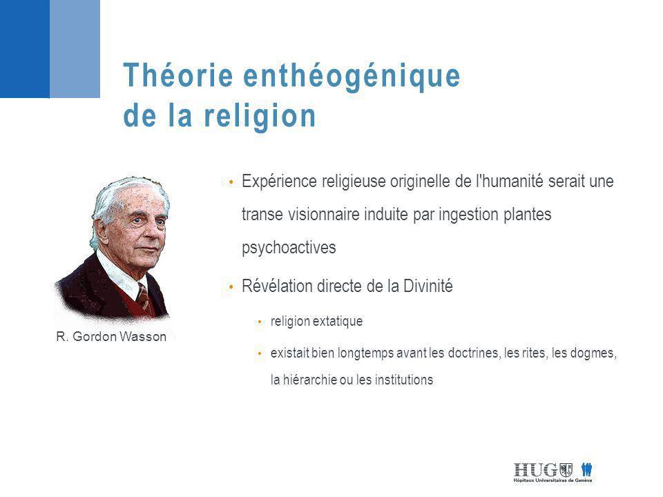 Théorie enthéogénique de la religion