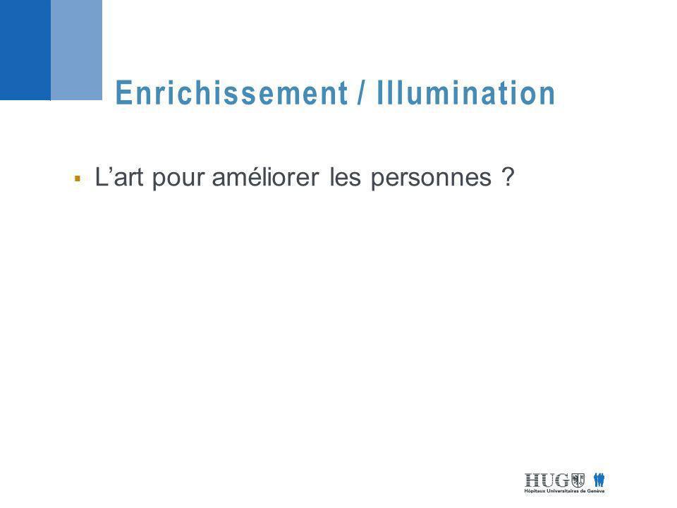 Enrichissement / Illumination