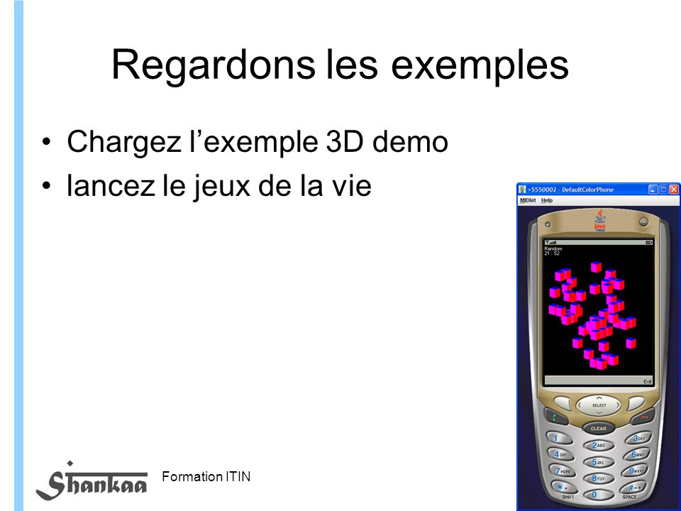 Regardons les exemples