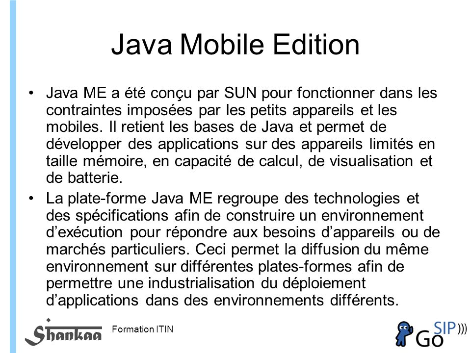Java Mobile Edition