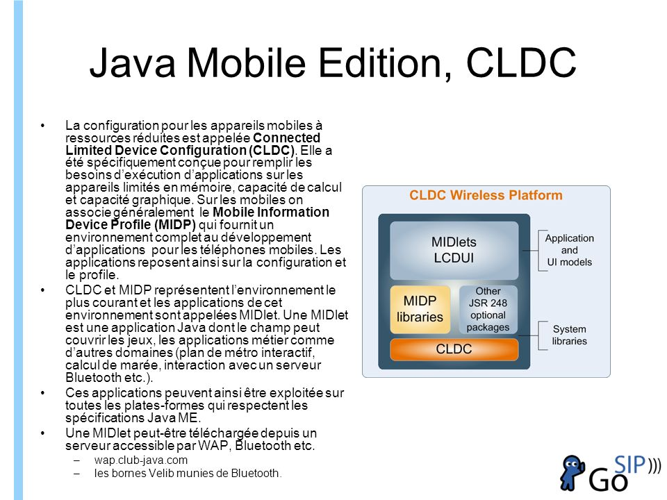 Java Mobile Edition, CLDC