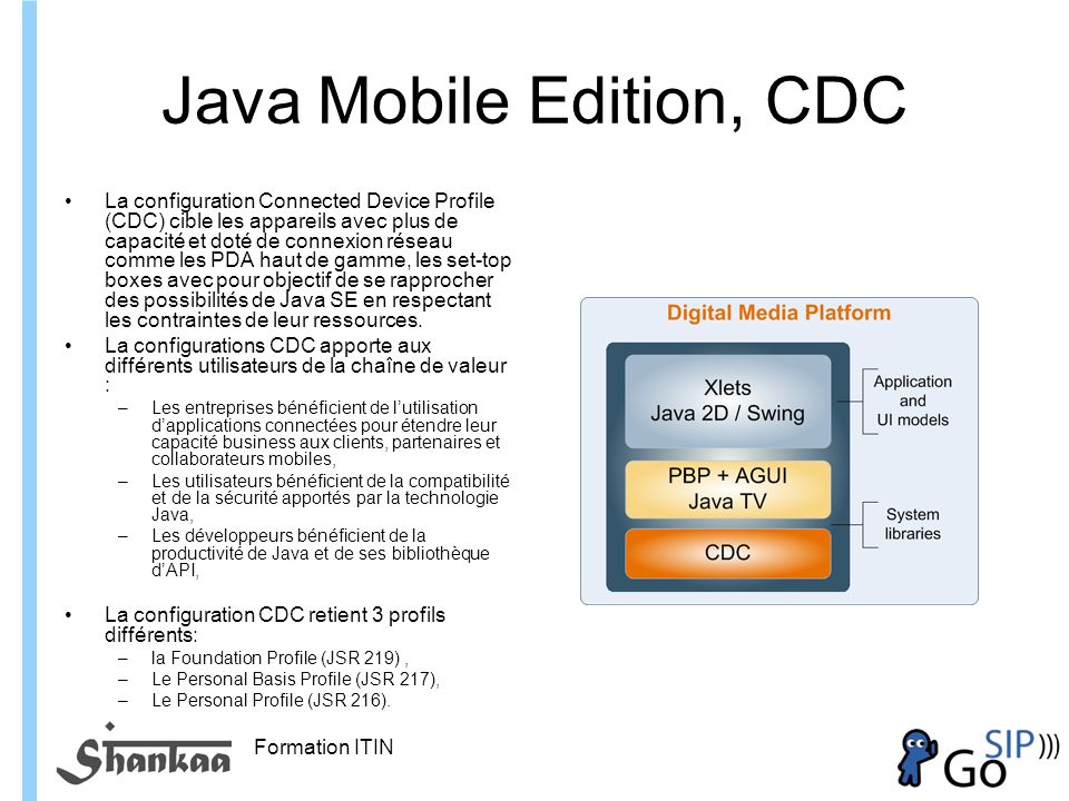 Java Mobile Edition, CDC