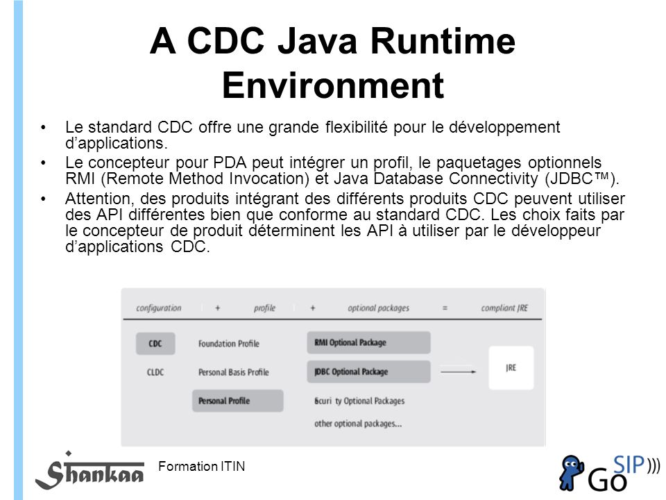 A CDC Java Runtime Environment