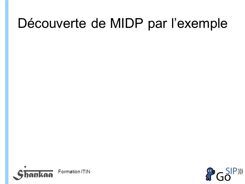 Découverte de MIDP par l'exemple
