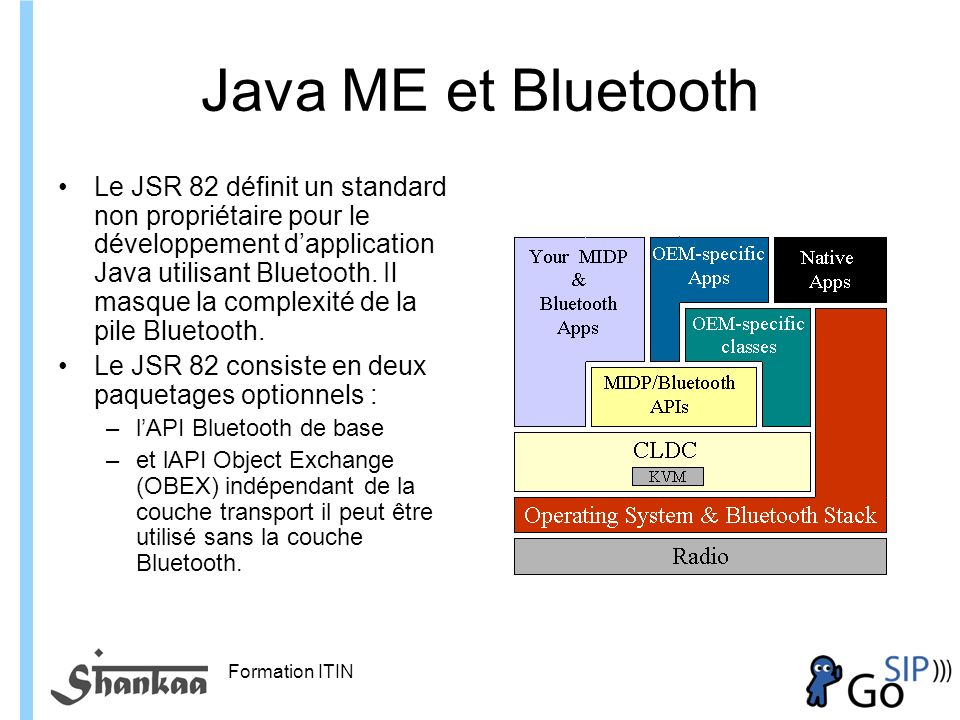 Java ME et Bluetooth