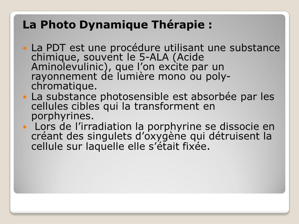 La Photo Dynamique Thérapie :