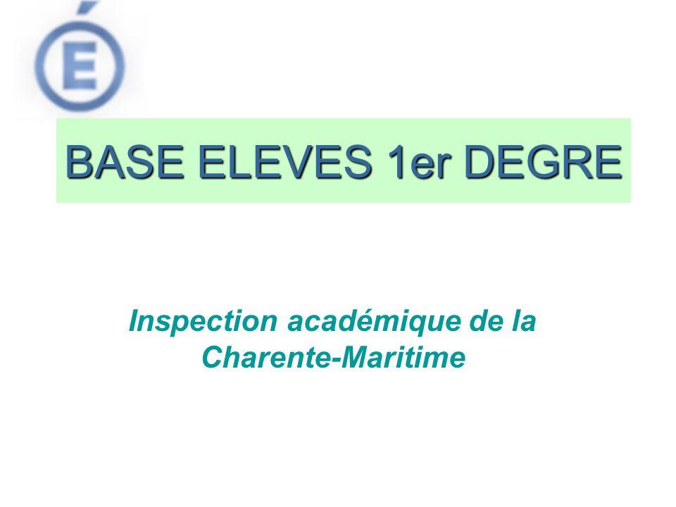 Inspection académique de la Charente-Maritime