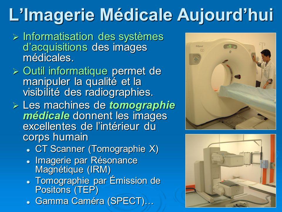 L'Imagerie Médicale Aujourd'hui