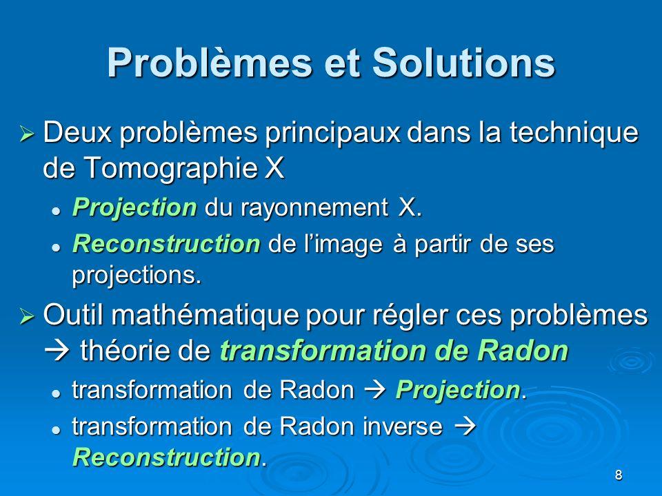 Problèmes et Solutions