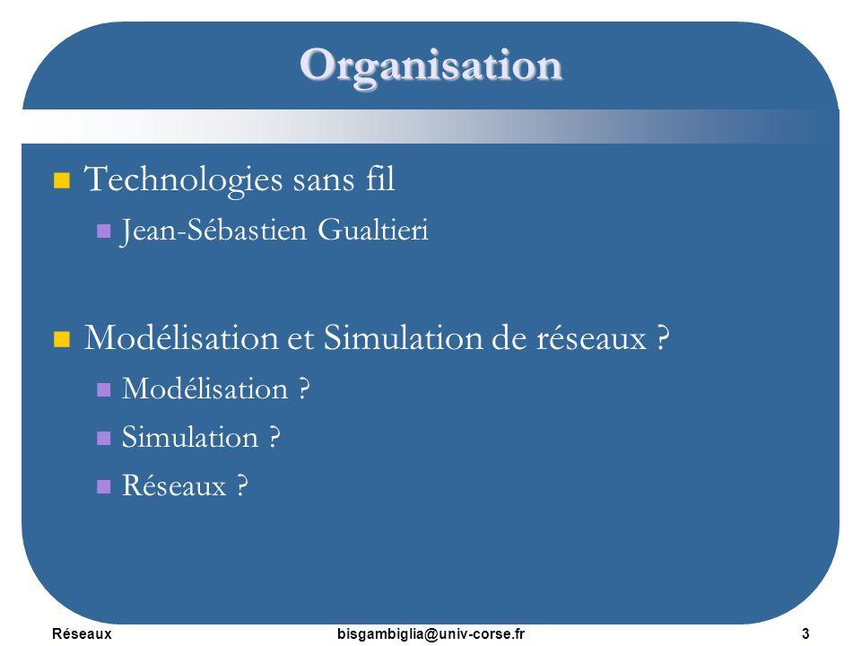 Organisation Technologies sans fil