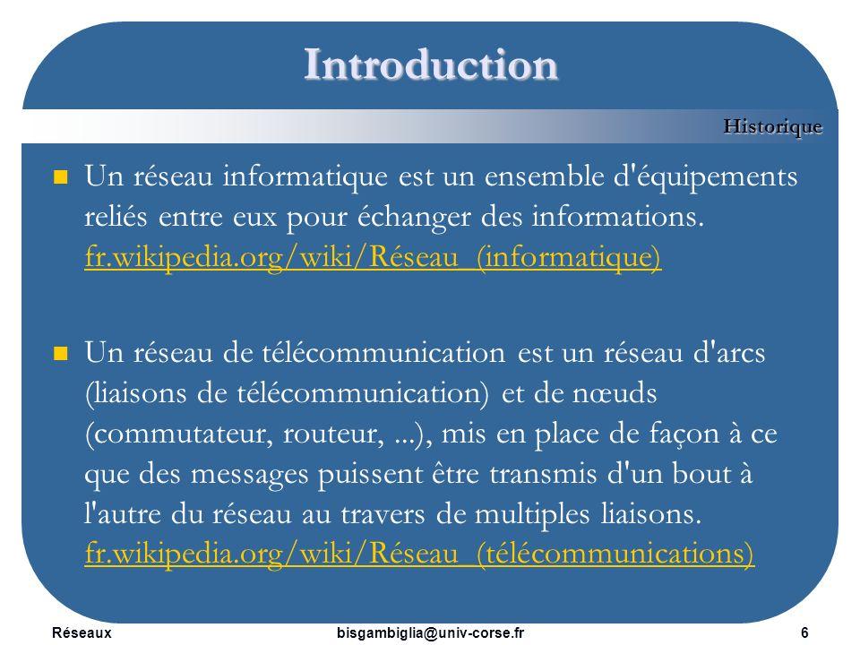 Introduction Historique.