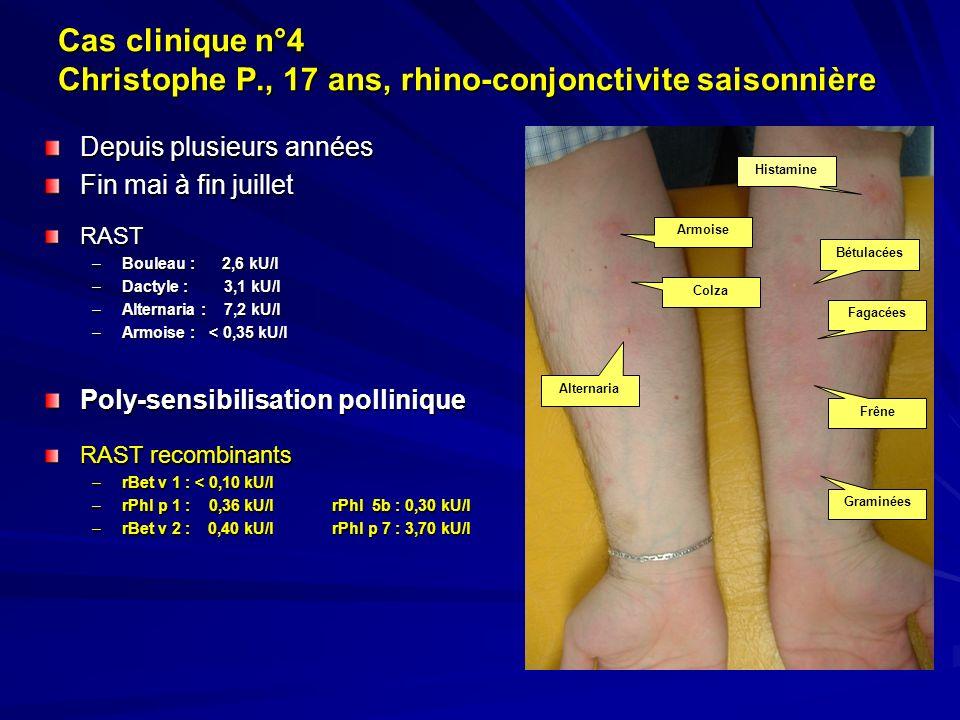 Cas clinique n°4 Christophe P