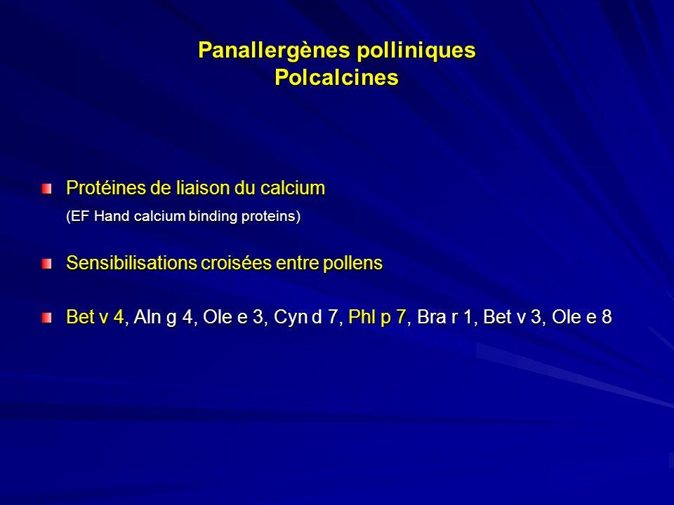 Panallergènes polliniques Polcalcines
