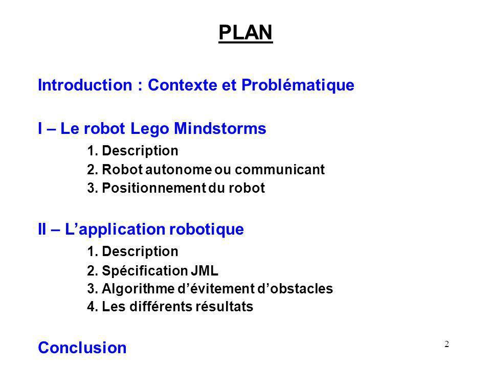 PLAN Introduction : Contexte et Problématique