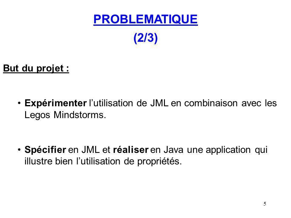PROBLEMATIQUE (2/3) But du projet :